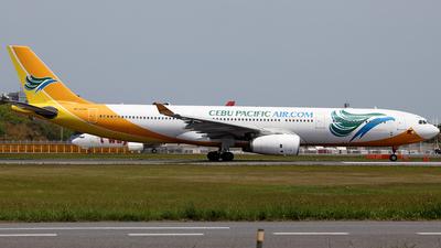 RP-C3341 - Airbus A330-343 - Cebu Pacific Air