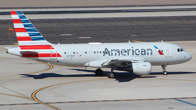 A picture of N778XF - Airbus A319112 - American Airlines - © Alexander Aston