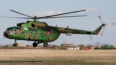 418 - Mil Mi-17 Hip - Bulgaria - Air Force