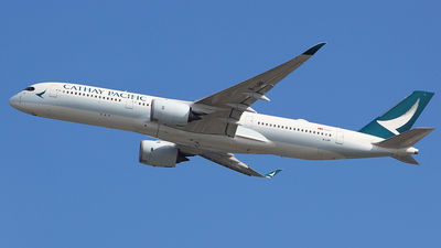 B-LRF - Airbus A350-941 - Cathay Pacific Airways