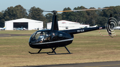 VH-SJK - Robinson R44 Clipper II - Private