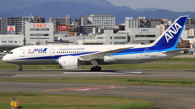 A picture of JA819A - Boeing 7878 Dreamliner - All Nippon Airways - © H.Choby