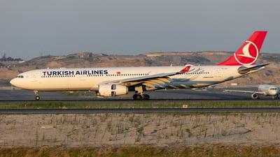 A picture of TCLOJ - Airbus A330343 - Turkish Airlines - © Mustafa Sandikci