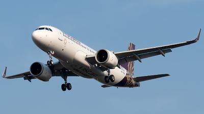 A picture of VTTNV - Airbus A320251N - Vistara - © Shrey Chopra