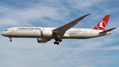 TC-LLK - Boeing 787-9 Dreamliner - Turkish Airlines