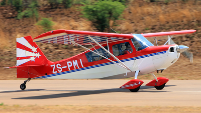 ZS-PMI - Champion 7GCAA Citabria - Private