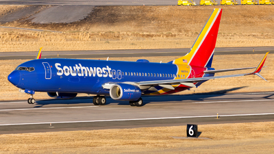 A picture of N8691A - Boeing 7378H4 - Southwest Airlines - © HA-KLS