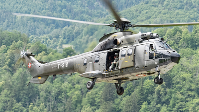 T-312 - Aérospatiale AS 332M1 Super Puma - Switzerland - Air Force
