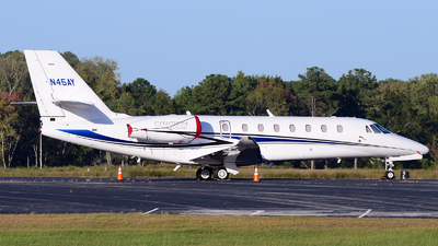 N45AY - Cessna 680 Citation Sovereign Plus - Private