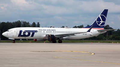 A picture of SPLVB - Boeing 737 MAX 8 - LOT - © Tomasz Kozakowski