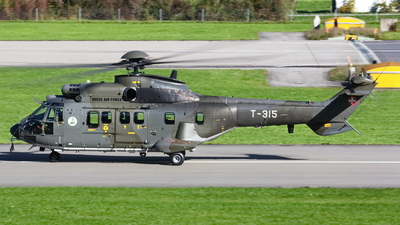 T-315 - Aérospatiale AS 332M1 Super Puma - Switzerland - Air Force