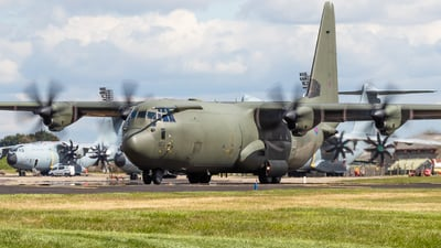 A picture of ZH872 - Lockheed C130J Hercules -  - © James Dinsdale