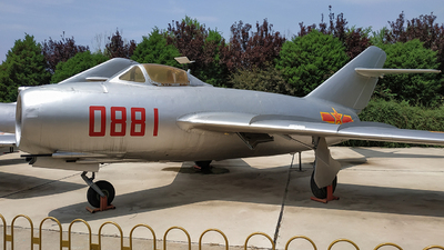 0881 - Mikoyan-Gurevich MiG-15bis Fagot - China - Air Force