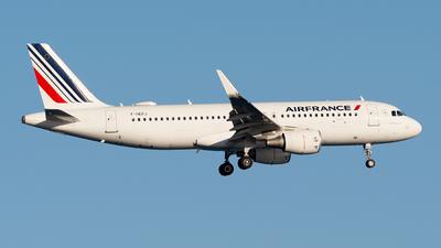 F-HEPJ - Airbus A320-214 - Air France