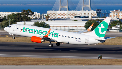 PH-GGX - Boeing 737-8EH - Transavia Airlines