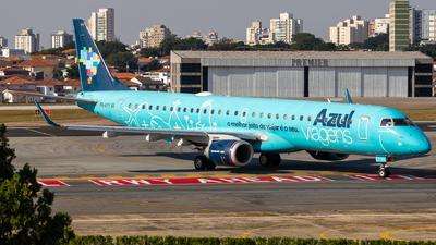 A picture of PRAYY - Embraer E195AR - Azul Linhas Aereas - © fachetti_spotter