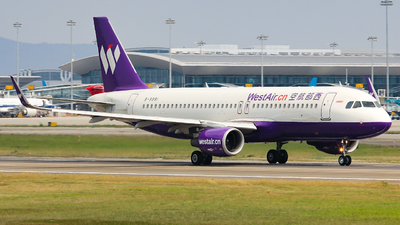 B-9981 - Airbus A320-214 - West Air