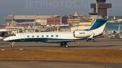 N4PG - Gulfstream G550 - Private