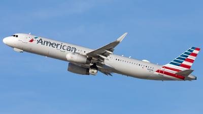 N166NN - Airbus A321-231 - American Airlines