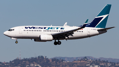 A picture of CGWBT - Boeing 7377CT - WestJet - © Brandon Giacomin