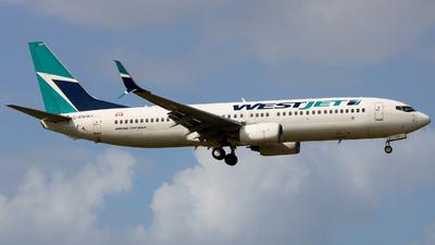 A picture of CGWWJ - Boeing 7378CT - WestJet - © Giovanni Segarra Ortiz
