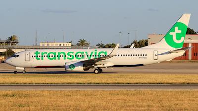 A picture of PHHXD - Boeing 7378K2 - Transavia - © Pampillonia Francesco - Plane Spotters Bari