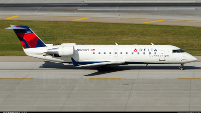 N820AY - Bombardier CRJ-200LR - Delta Connection (Endeavor Air)