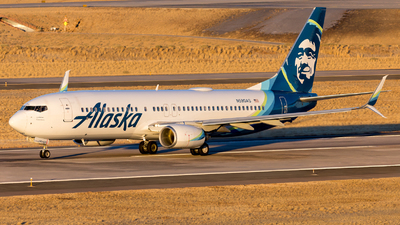 A picture of N590AS - Boeing 737890 - Alaska Airlines - © HA-KLS