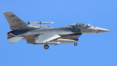 87-0287 - Lockheed Martin F-16C Fighting Falcon - United States - US Air Force (USAF)