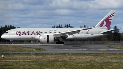 A picture of A7BCD - Boeing 7878 Dreamliner - Qatar Airways - © Ian McGregor