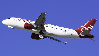 N845VA - Airbus A320-214 - Virgin America