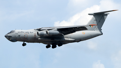 K2663 - Ilyushin IL-76MD - India - Air Force