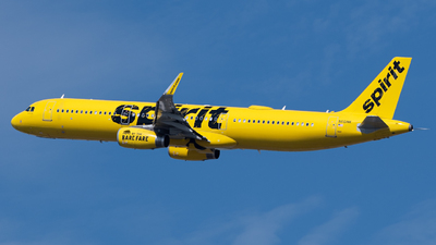 A picture of N661NK - Airbus A321231 - Spirit Airlines - © JTPAviation