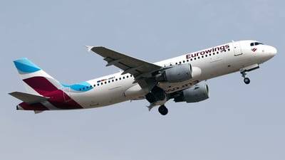 D-ABNT - Airbus A320-214 - Eurowings