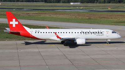 A picture of HBJVL - Embraer E190LR - Helvetic Airways - © Kay Hansen