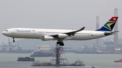 ZS-SXE - Airbus A340-313E - South African Airways