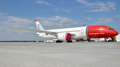 A picture of LNLNE - Boeing 7878 Dreamliner - [34796] - © Vincent Anderson - Arlanda_spotter