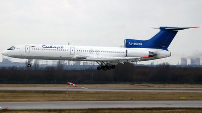 RA-85724 - Tupolev Tu-154M - Siberia Airlines