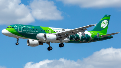 A picture of EIDEO - Airbus A320214 - Aer Lingus - © Leo Sheng