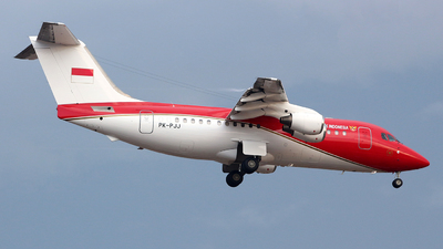 PK-PJJ - British Aerospace BAe 146-200 - Indonesia - Government