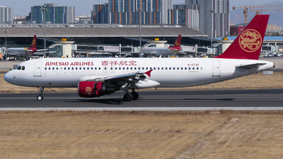 A picture of B6736 - Airbus A320214 - Juneyao Airlines - © YNTer2021