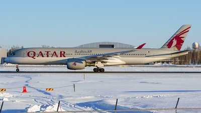 A picture of A7ALJ - Airbus A350941 - Qatar Airways - © Laszlo Fekete