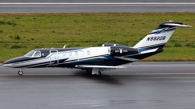 N992DB - Cessna 525C CitationJet 4 - Private