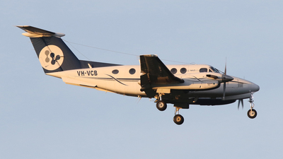 VH-VCB - Beechcraft 200 Super King Air - West Wing Aviation
