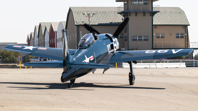 NL3025 - Grumman F8F Bearcat - Private