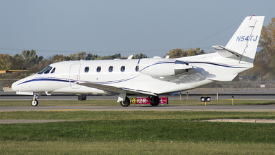 A picture of N54TJ - Cessna 560XLS Citation Excel - [5605535] - © John Newsome