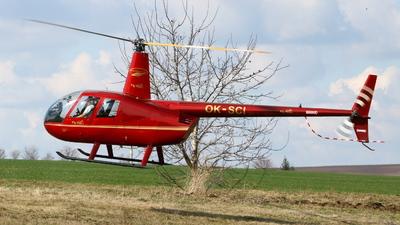 OK-SCI - Robinson R44 Raven - LPS - Letecké Práce a Služby