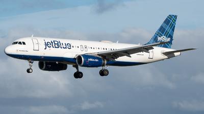 N607JB - Airbus A320-232 - jetBlue Airways