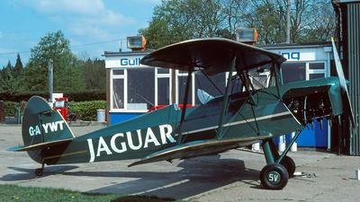 G-AYWT - Stampe and Vertongen SV-4C - Private