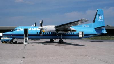 - Fokker 50 - Maersk Air
